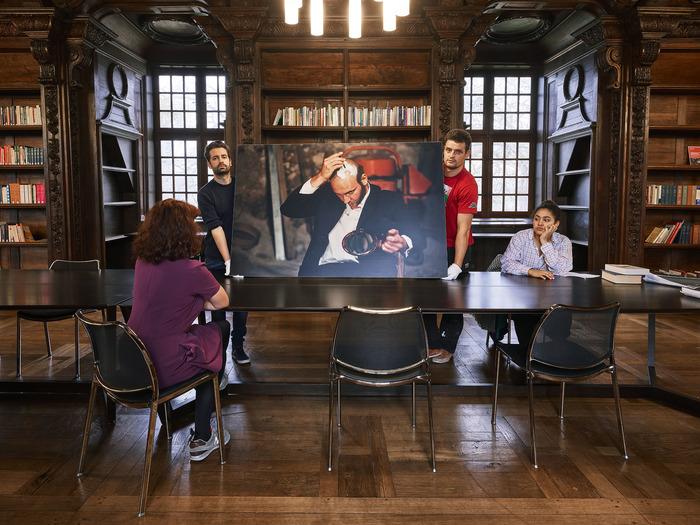 Journées du patrimoine 2018 - Visite guidée de l'exposition d'Emmanuelle Lainé