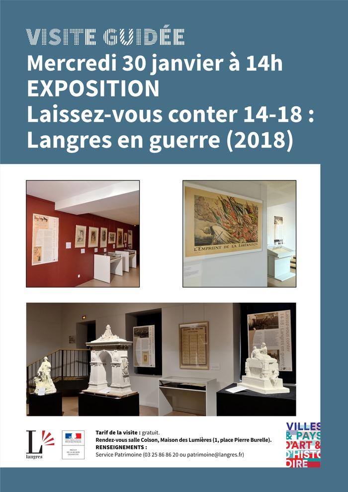 Visite guidée de l'exposition