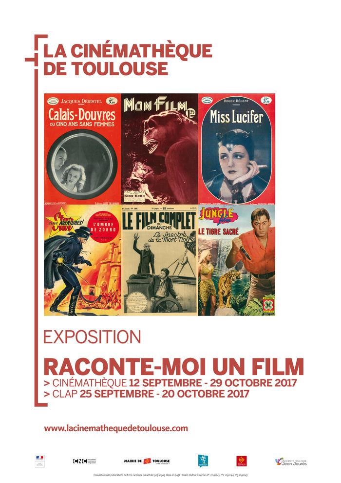 Journées du patrimoine 2017 - Visite guidée de l'exposition « Raconte-moi un film »