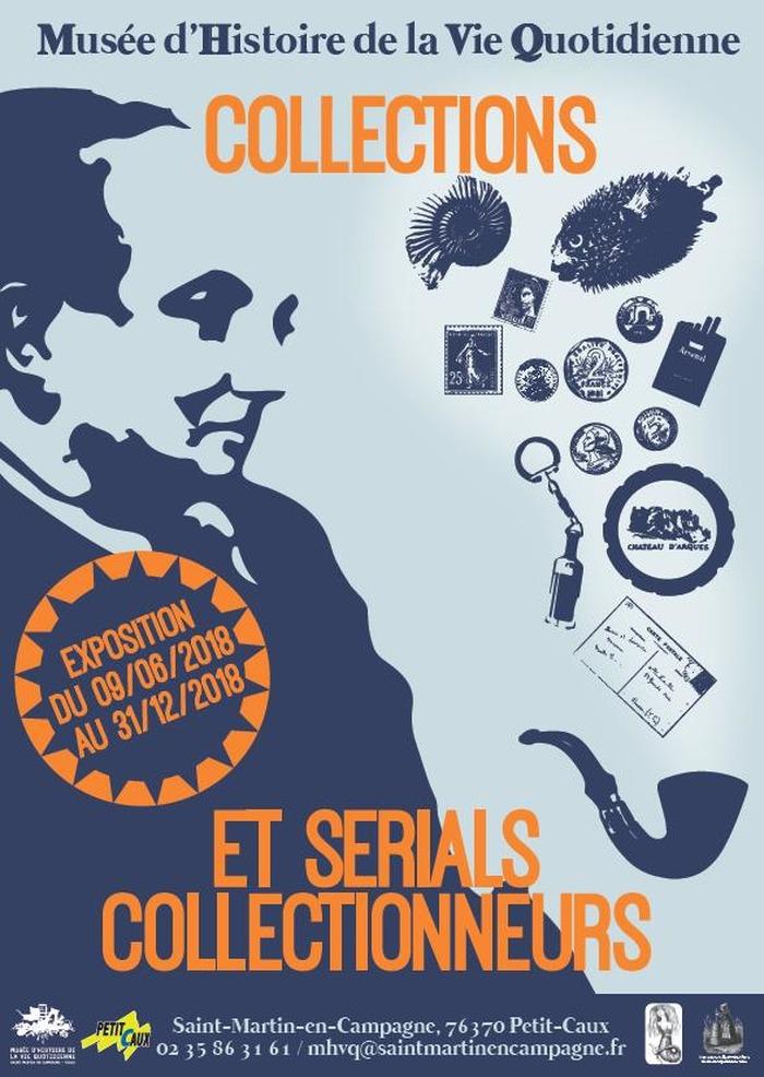 Journées du patrimoine 2018 - Visite guidée de l'exposition temporaire : « Collections et serials collectionneurs »