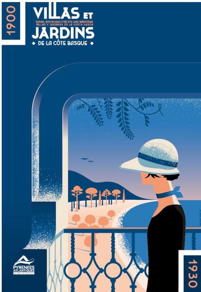 Journées du patrimoine 2018 - Visite guidée de l'exposition Villas et jardins de la Côte basque