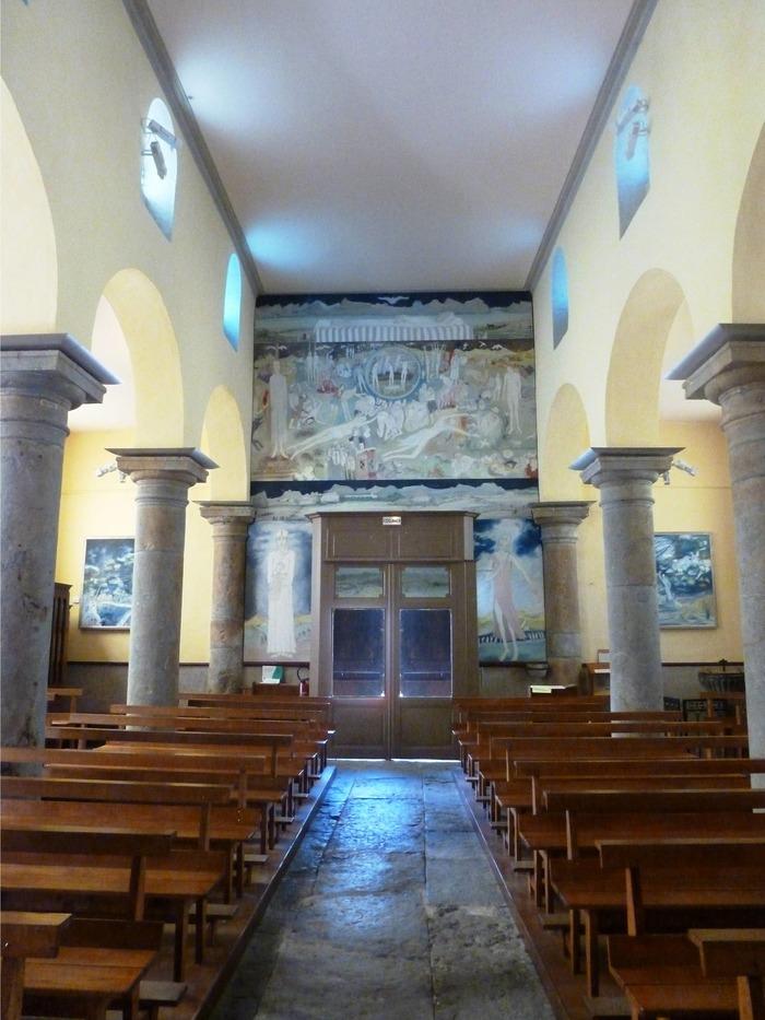 Journées du patrimoine 2018 - Visite guidée de l'oeuvre du peintre Jean Fusaro.