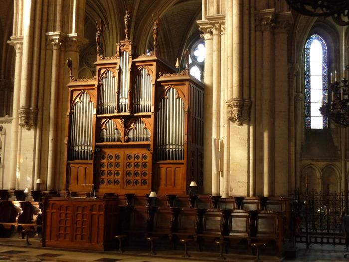 Crédits image : Orgue de choeur de la cathédrale de Troyes - Photographie : Marie-Anne Ballot