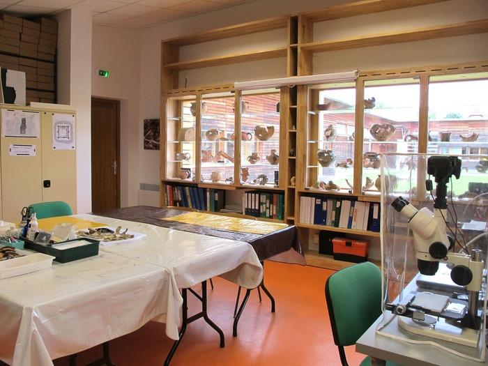 Journées du patrimoine 2017 - Visite comentée de la base de recherche archéologique