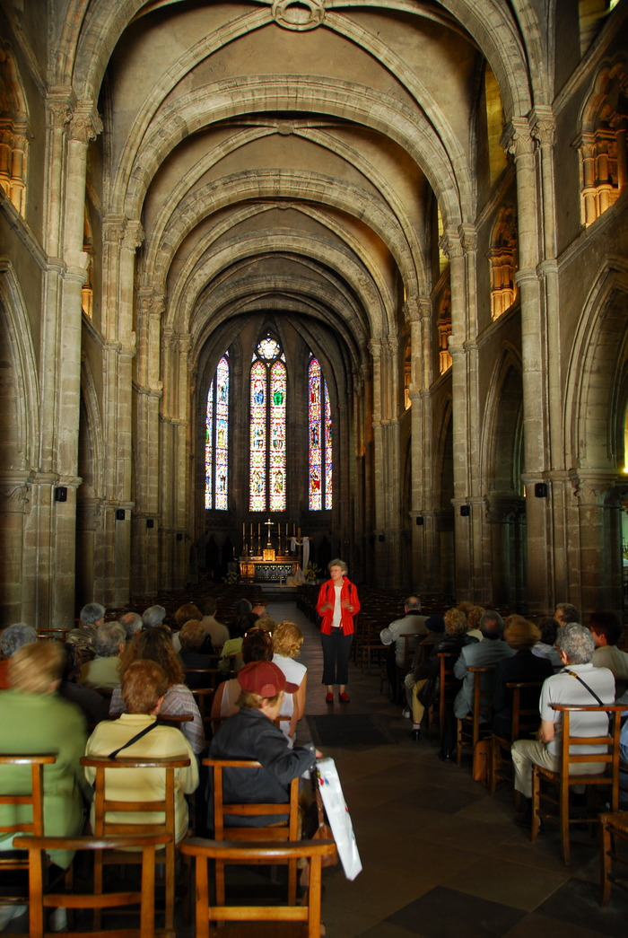 Journées du patrimoine 2018 - Visite guidée de la basilique Saint-Maurice
