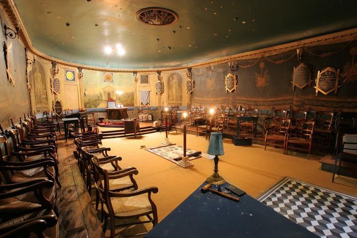 Journées du patrimoine 2018 - Visite guidée de la bibliothèque et du temple maçonnique