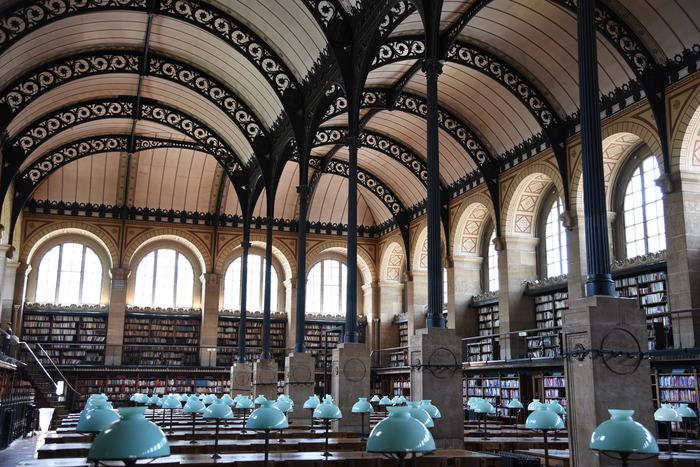 Crédits image : bibliothèque Sainte-Geneviève