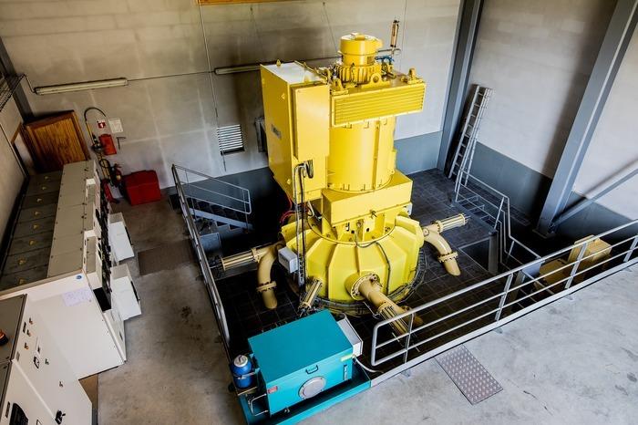 Journées du patrimoine 2018 - Visite commentée de la centrale hydroélectrique Alpes-Hydro d'Argentine 2.