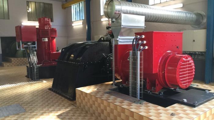 Journées du patrimoine 2018 - Visite commentée de la centrale hydroélectrique Alpes-Hydro de La Perrière.