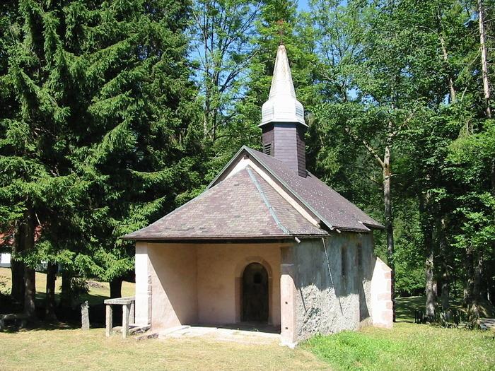 Journées du patrimoine 2018 - Chapelle Sainte Anne de Martimprey