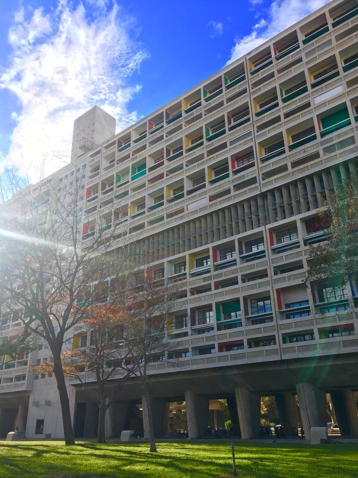 Journées du patrimoine 2018 - Visite guidée de la Cité radieuse - Le Corbusier
