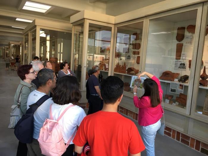 Journées du patrimoine 2018 - Visite guidée de la collection Céra'brique