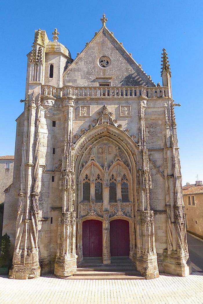 Journées du patrimoine 2018 - Visite guidée de la Collégiale, de la Commanderie des Antonins et des jardins