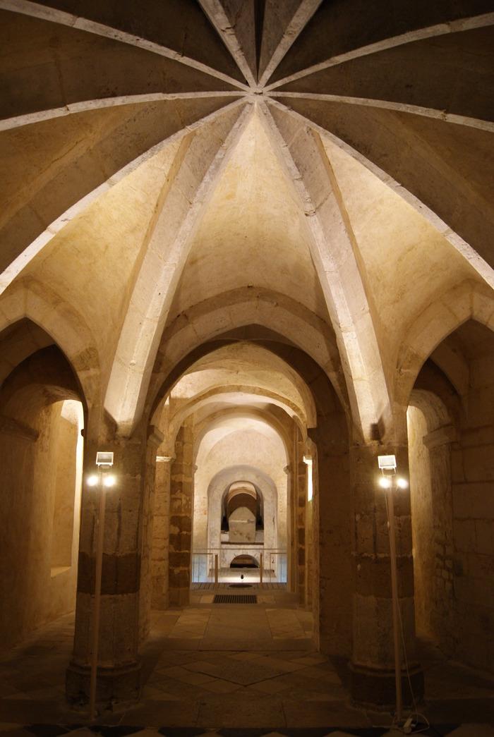 Journées du patrimoine 2018 - Visite guidée de la crypte carolingienne