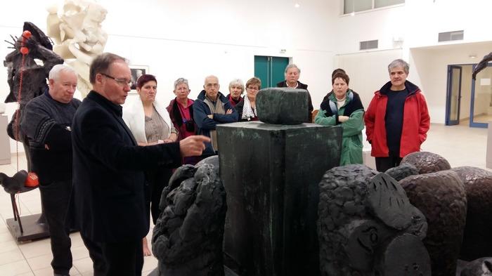 Journées du patrimoine 2018 - Visite guidée de la galerie Ipoustéguy