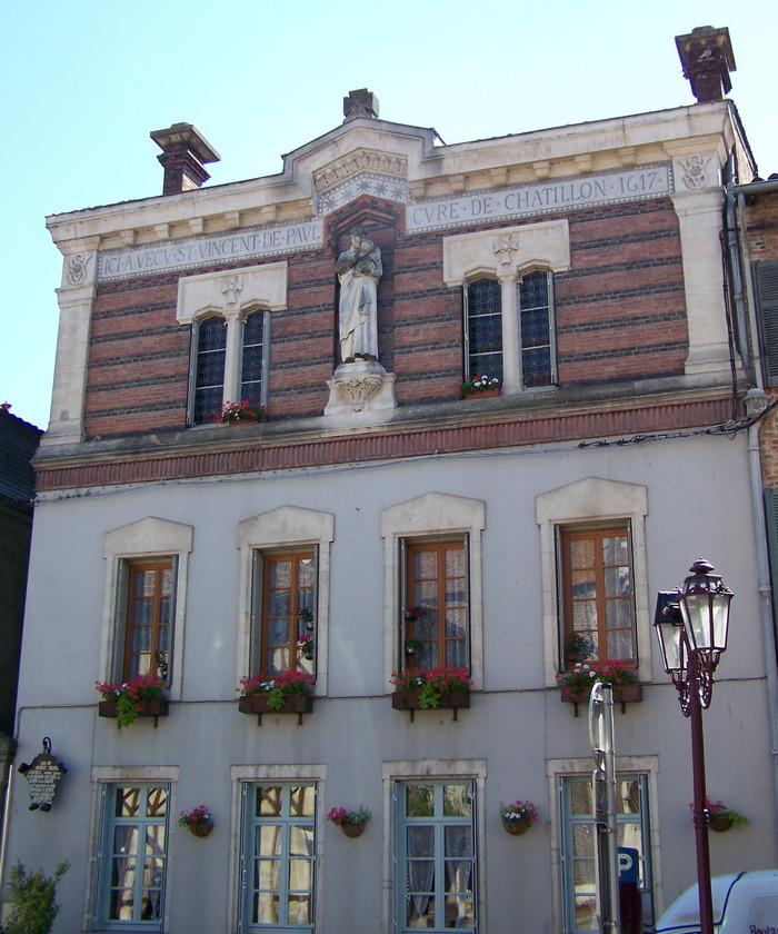 Journées du patrimoine 2018 - Visite commentée de la maison de Saint-Vincent-de-Paul.
