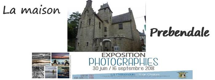 Journées du patrimoine 2018 - Visite guidée de la maison des chanoines, la maison Prébendale et visite libre de l'exposition de photos de Bretagne