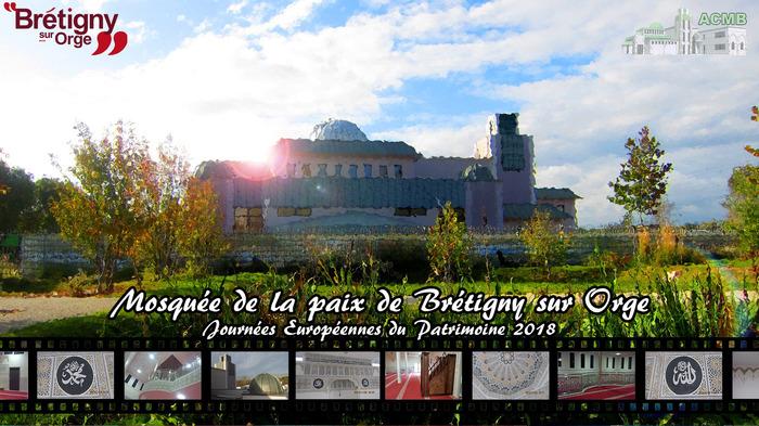 Journées du patrimoine 2018 - Visite guidée de la Mosquée de la Paix de Brétigny-sur-Orge