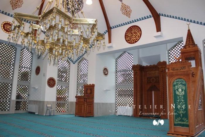 Journées du patrimoine 2018 - Visite guidée de la mosquée d'Annonay par groupes.