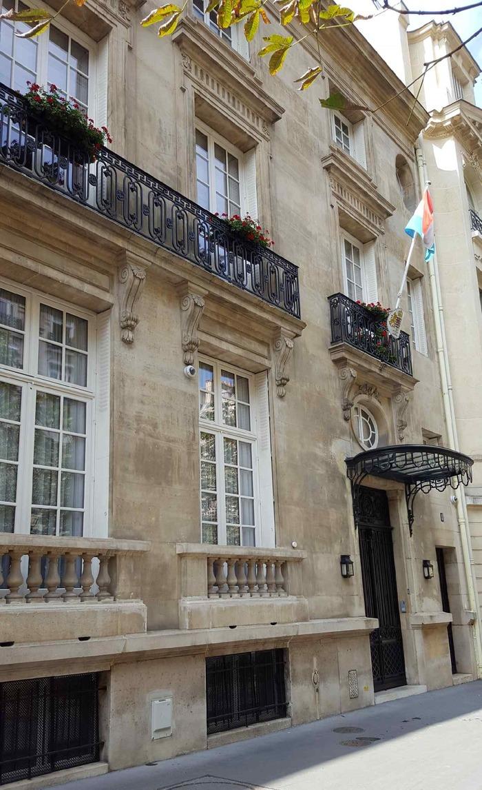 Journées du patrimoine 2018 - Visite guidée de la Résidence de l'ambassadeur du Grand-Duché de Luxembourg
