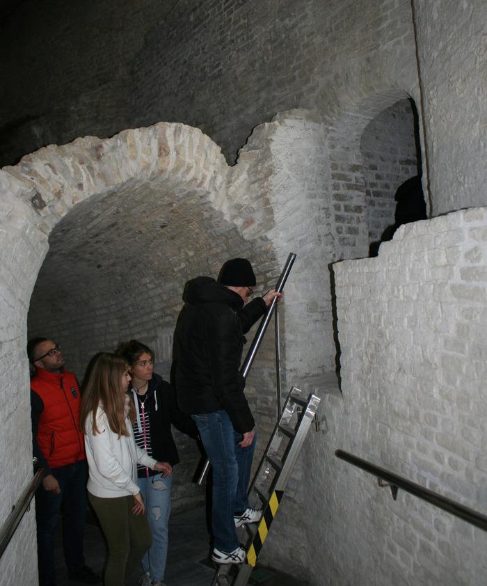 Journées du patrimoine 2018 - Visite guidée de la salle souterraine du demi-bastion