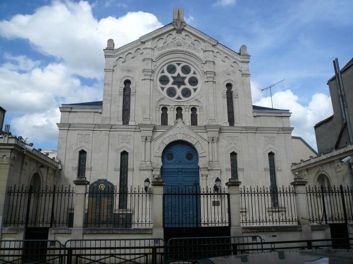 Journées du patrimoine 2018 - Visite guidée de la synagogue de Reims.