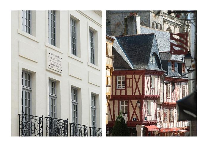 Journées du patrimoine 2018 - Visite guidée de la ville : Vannes, architecture de bois, architecture de pierre