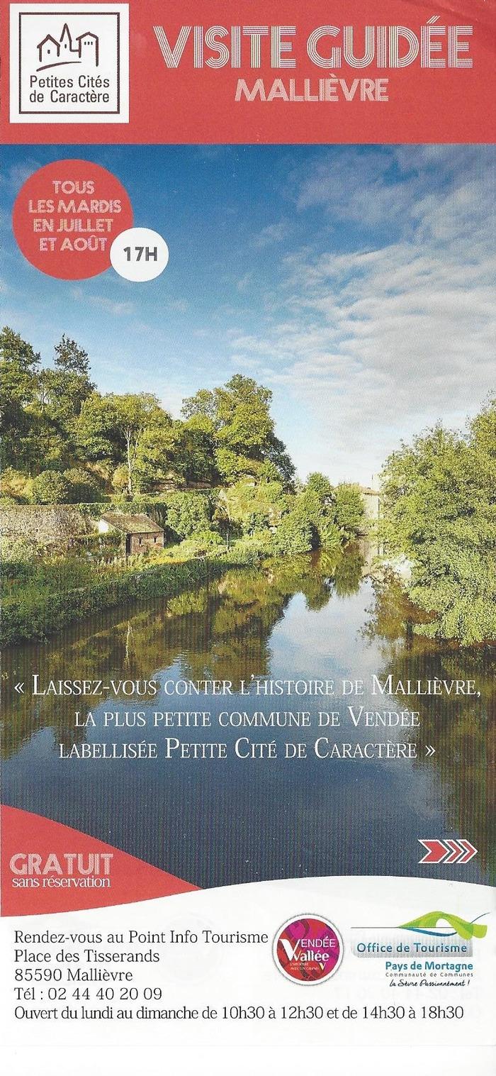 Journées du patrimoine 2018 - Visite guidée de Mallièvre
