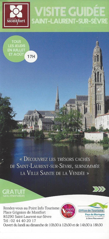 Journées du patrimoine 2018 - Visite guidée de Saint-Laurent-sur-Sèvre