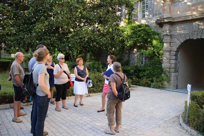 Journées du patrimoine 2018 - Visite guidée de Tournon-sur-Rhône.