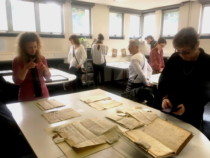 Journées du patrimoine 2018 - Visite commentée des archives.