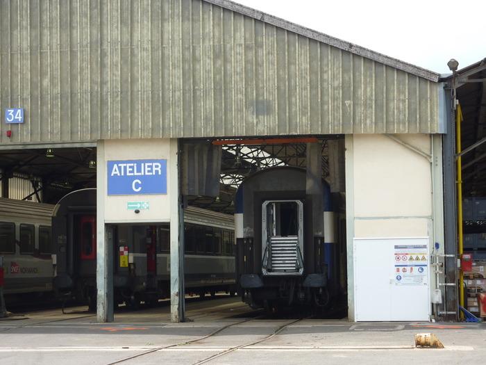 Journées du patrimoine 2018 - Visite guidée des ateliers de maintenance SNCF