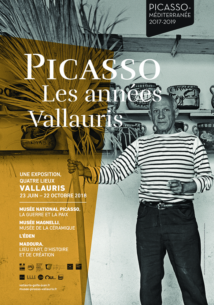 Journées du patrimoine 2018 - Visite guidée des différents lieux de l'exposition «Picasso, les années Vallauris»
