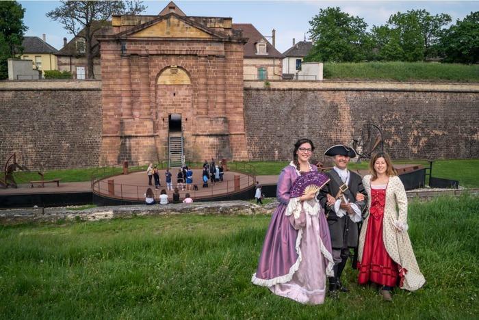 Journées du patrimoine 2018 - Visite guidée des fortifications de Neuf-Brisach - en français -