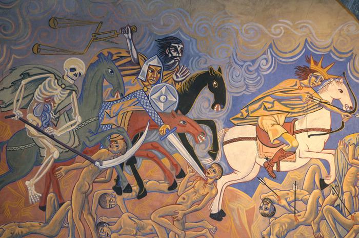 Journées du patrimoine 2017 - Visite guidée des fresques de l'Eglise Sainte-Anne