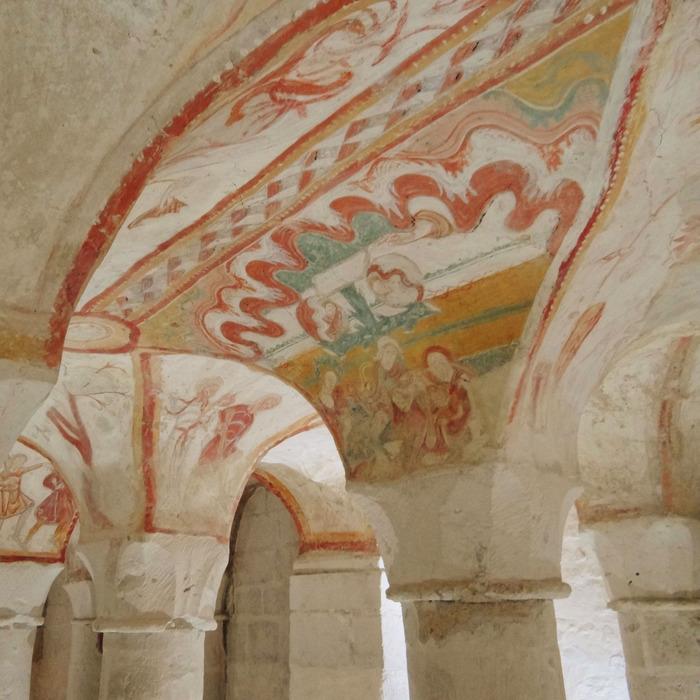 Journées du patrimoine 2018 - Visite guidée des fresques de la crypte