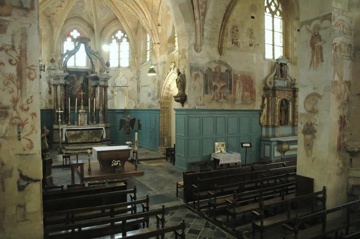 Journées du patrimoine 2018 - Découverte libre ou guidée des fresques murales de l'église Saint-Léger