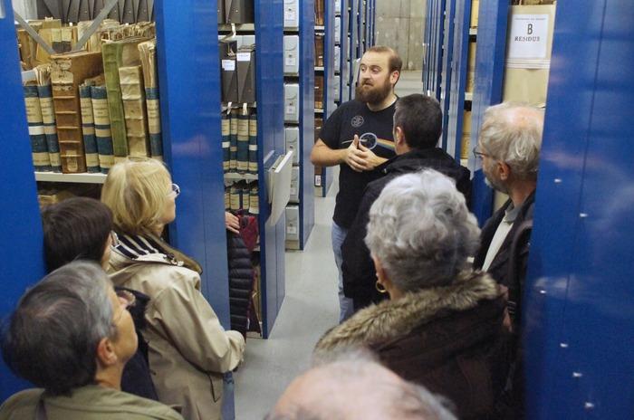 Journées du patrimoine 2018 - Visite guidée des locaux des Archives du Doubs