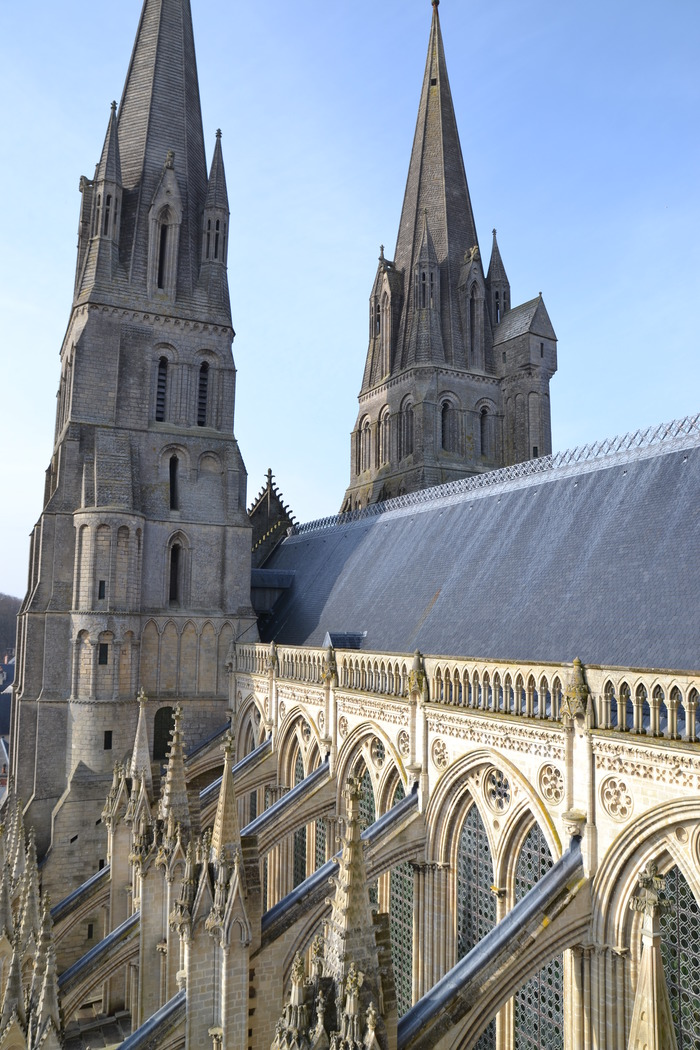 Journées du patrimoine 2018 - Visite guidée des parties hautes de la cathédrale de Bayeux
