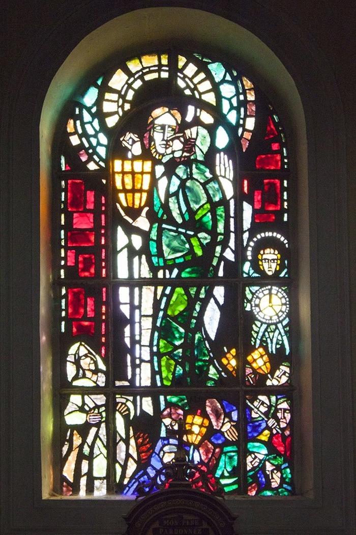 Journées du patrimoine 2018 - Visite guidée des vitraux de Gabriel Loire