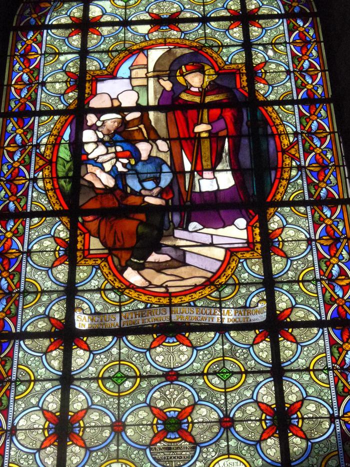 Journées du patrimoine 2018 - Visite guidée des vitraux de l'Église de Clairvaux-les-lacs