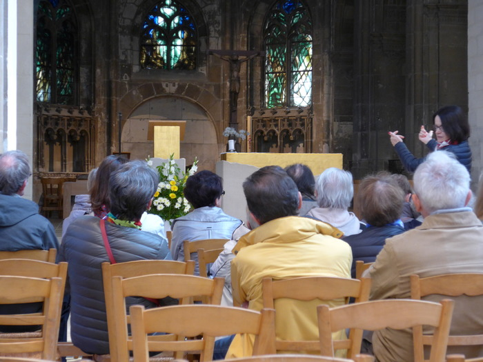 Journées du patrimoine 2018 - Visite guidée : les vitraux de l'église Saint-Jacques