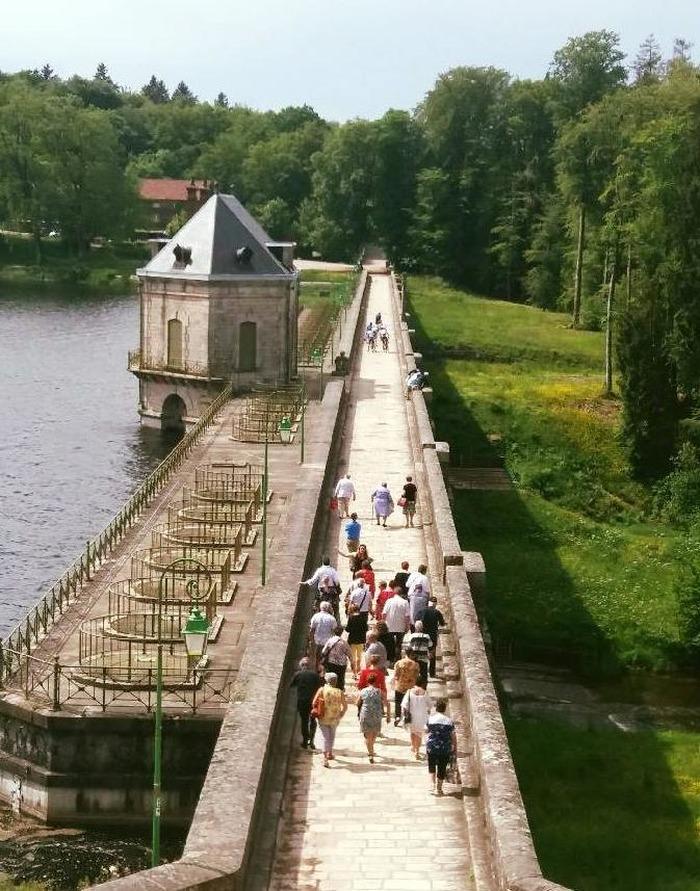 Journées du patrimoine 2018 - Visite guidée du barrage du lac des Settons