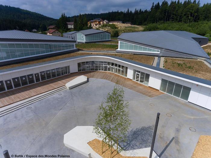 Journées du patrimoine 2018 - Visite guidée du bâtiment de l'Espace des Mondes Polaires par les architectes