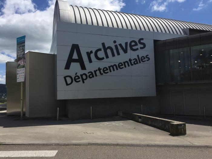 Journées du patrimoine 2020 - Visite commentée du bâtiment des archives