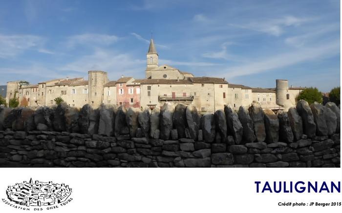 Journées du patrimoine 2018 - Visite commentée du bourg castral de Taulignan.
