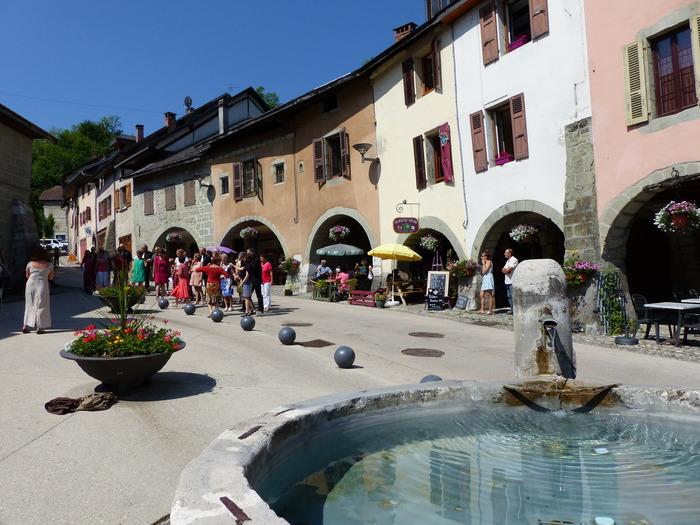 Journées du patrimoine 2018 - Visite commentée du Bourg médiéval d'Alby-sur-Chéran.