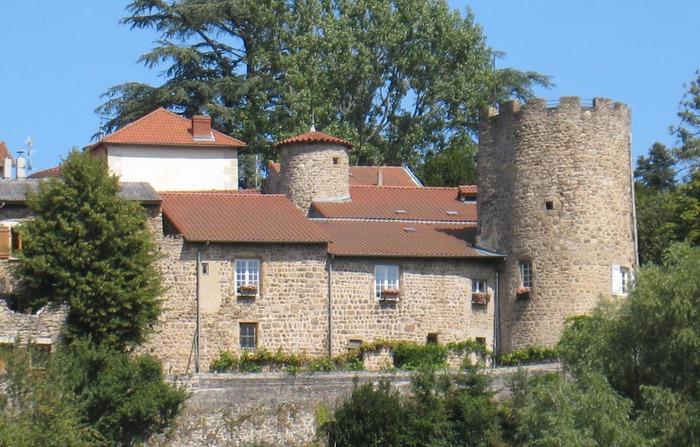 Journées du patrimoine 2018 - Visite guidée du bourg médiéval d'Aurec, des châteaux et des peintures murales.