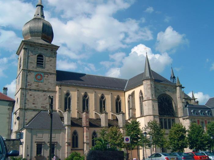 Journées du patrimoine 2018 - Visite Guidée du Centre historique de Remiremont