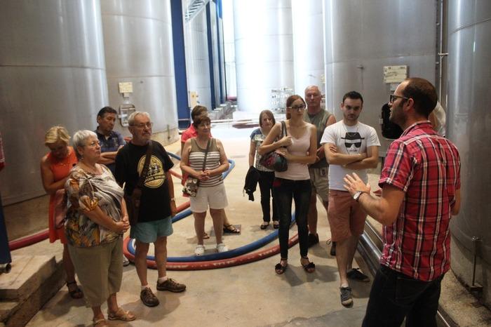 Journées du patrimoine 2017 - Visite guidée du chai de production des Vignerons Ardéchois